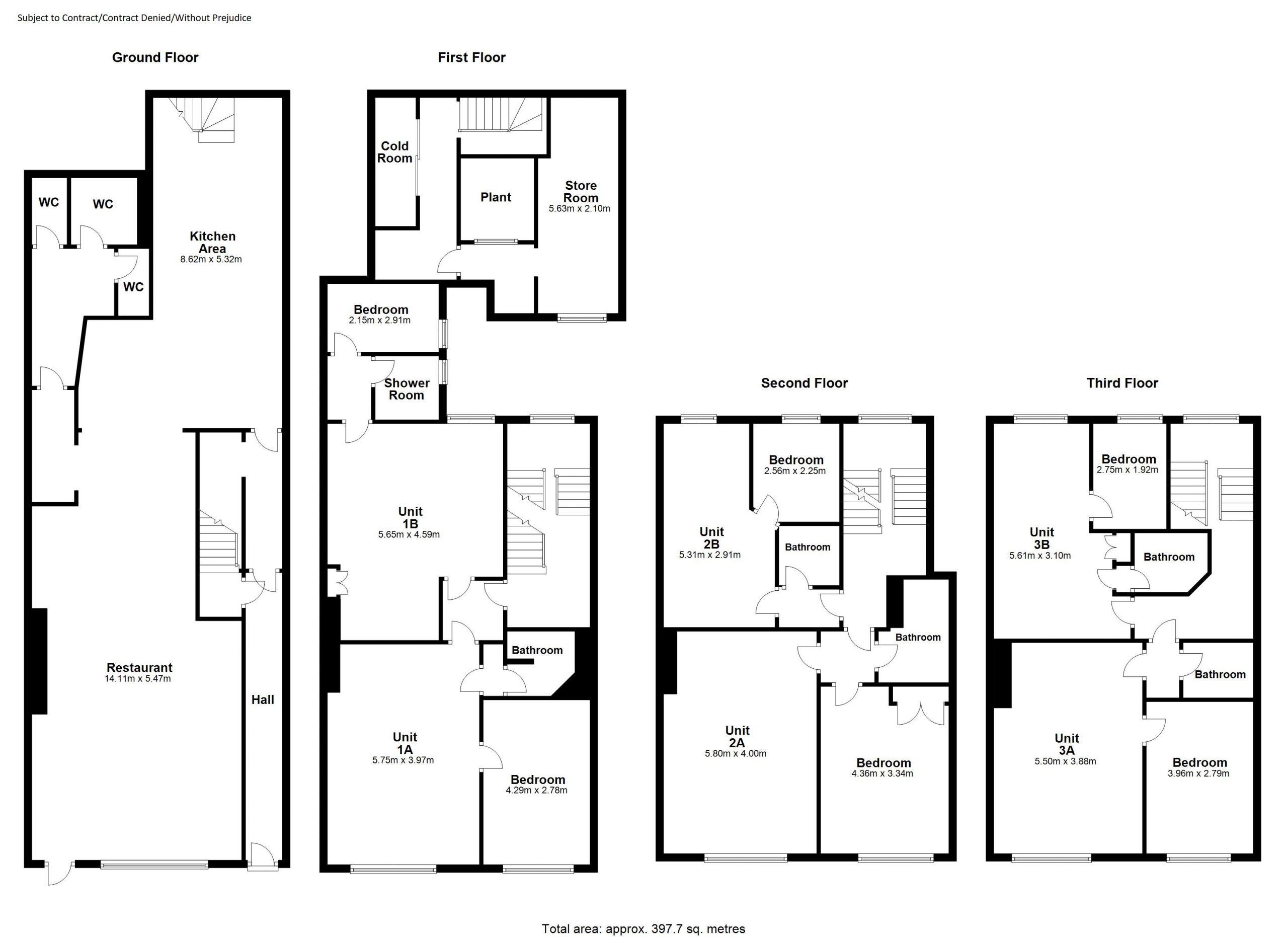 Aungier Street Floor Plan