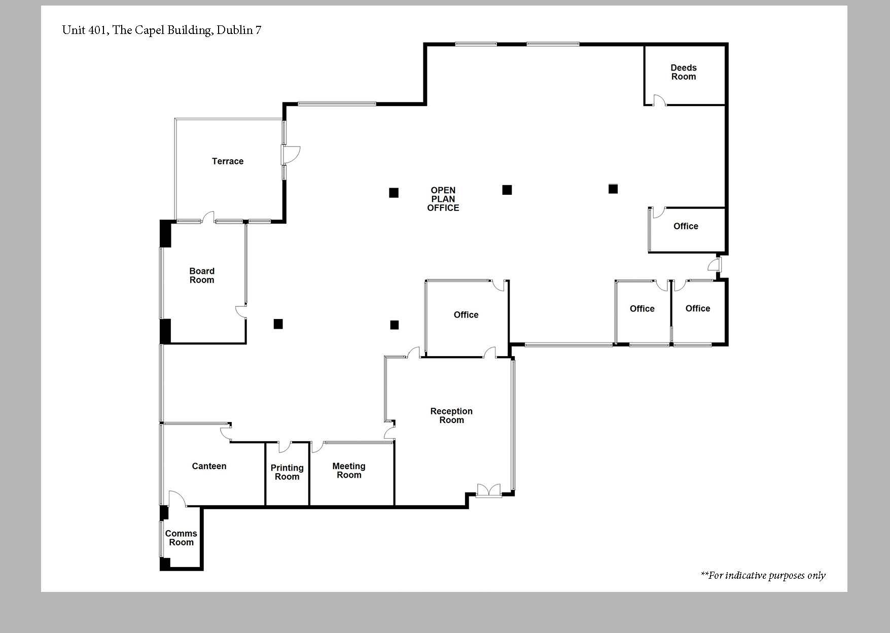 Capel Building Floor Plan