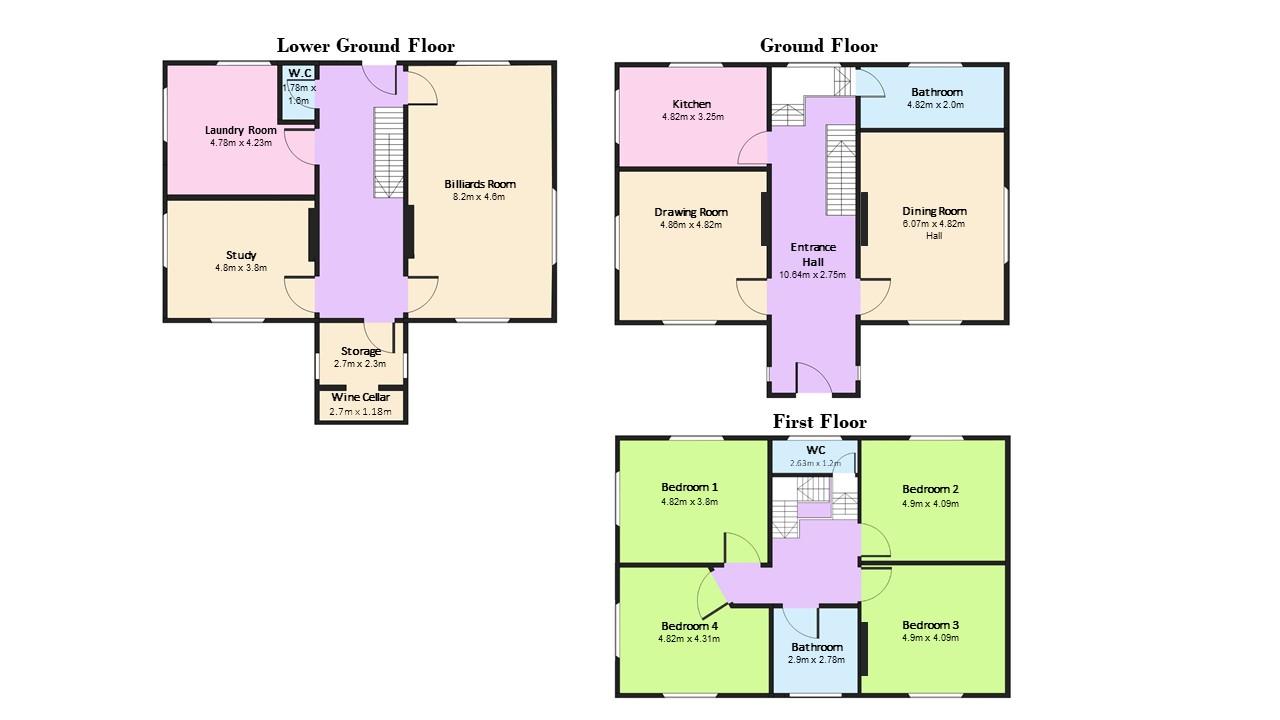 Floorplan Dunmoe Complete