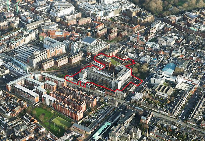 Former DIT Campus, Kevin Street Lower, Dublin 8