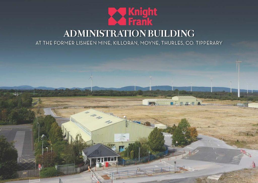 Brochure cover - Admin Building
