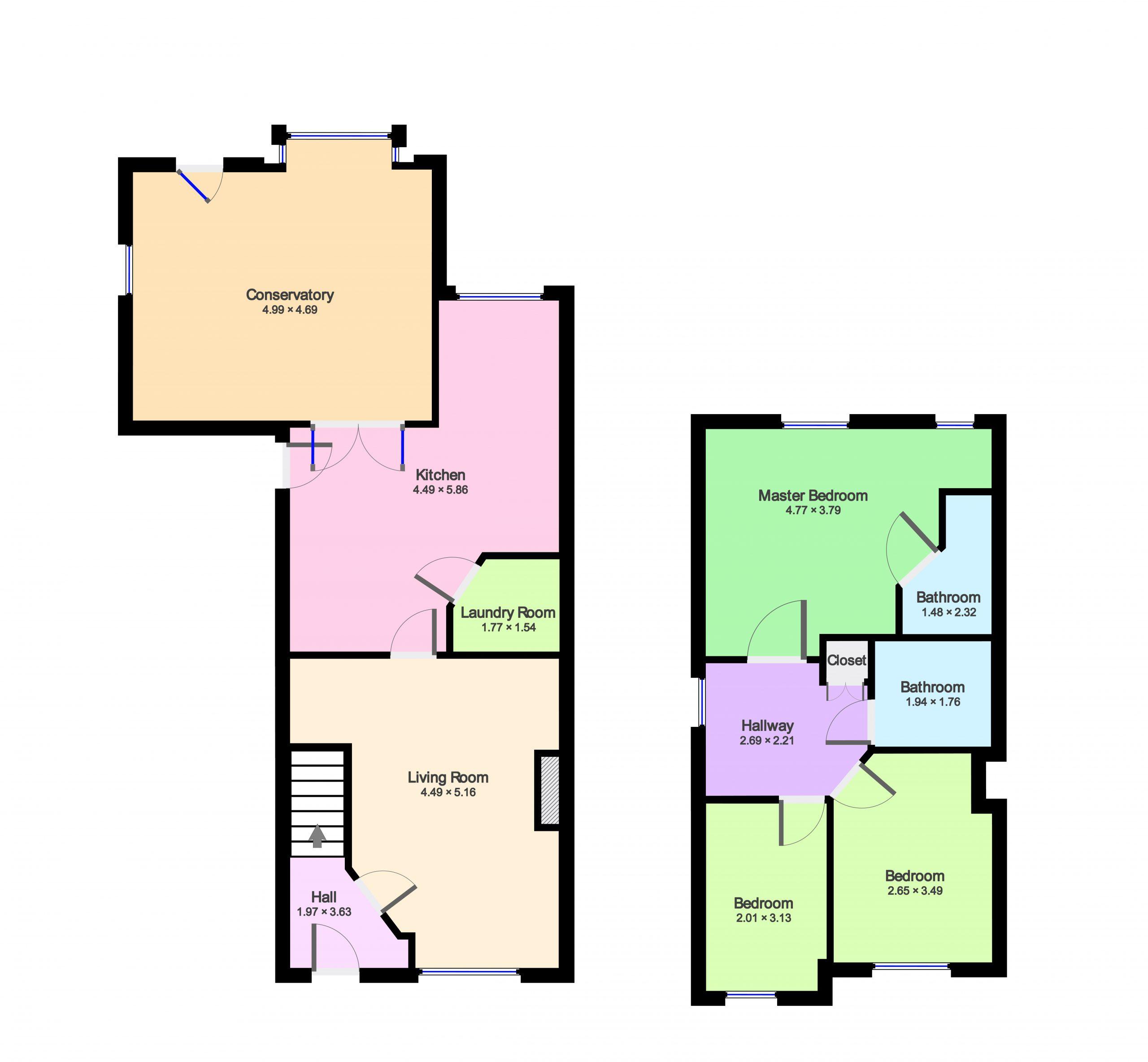 Floorplan Combined