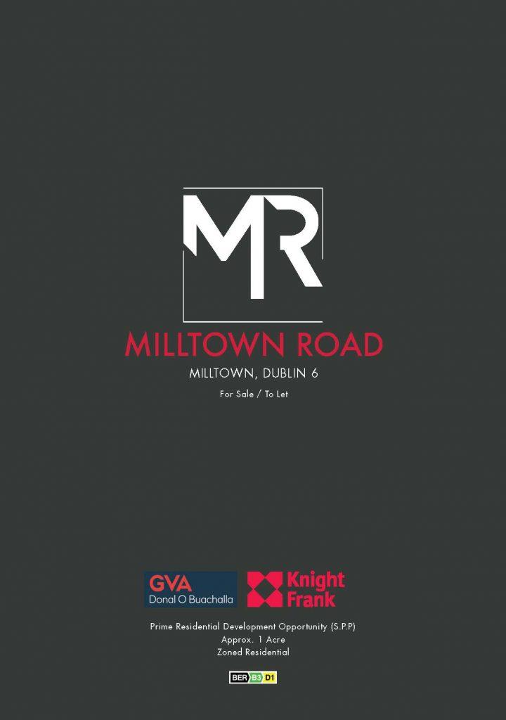 Milltown Road Brochure
