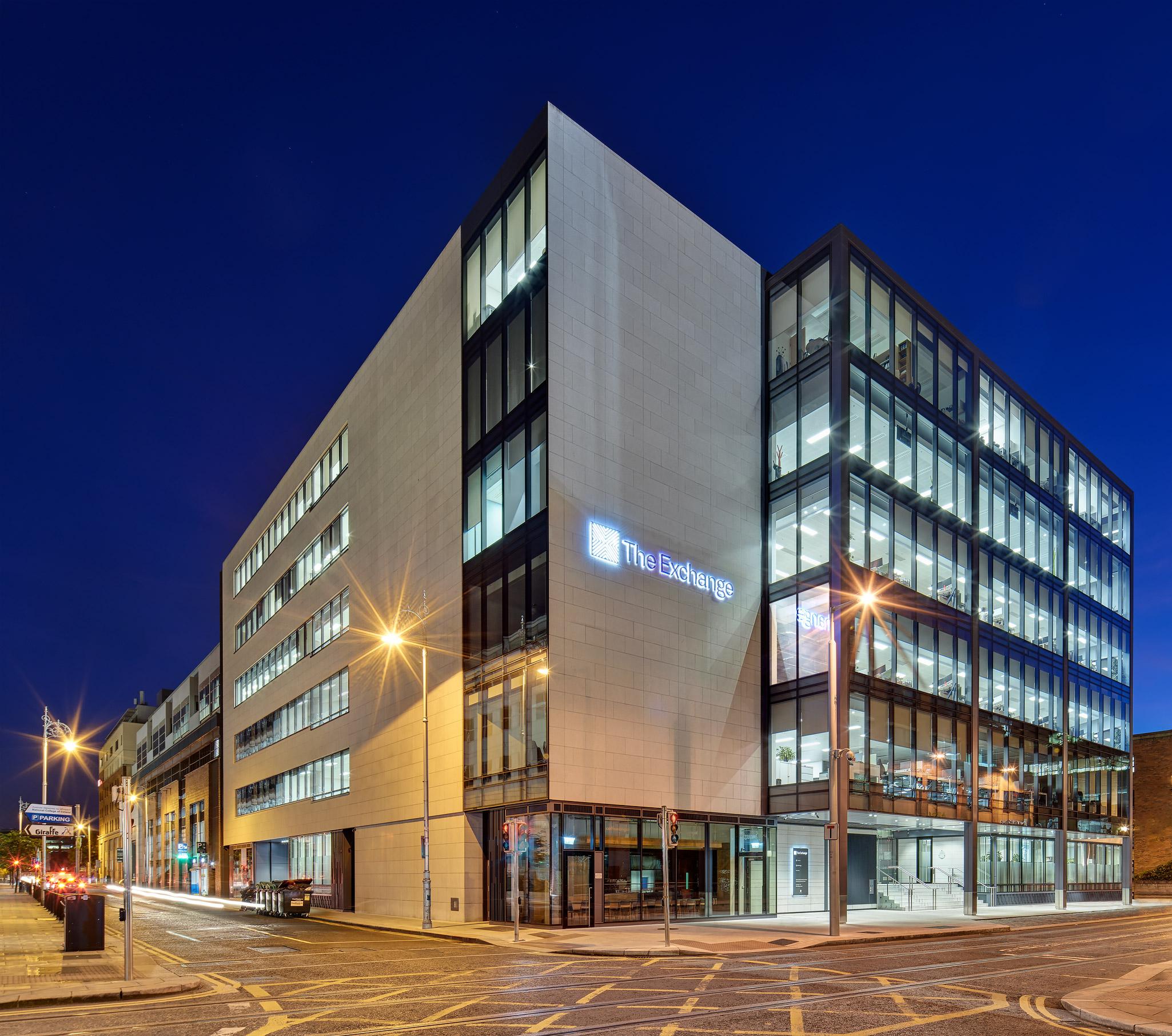 The Exchange Building, 2nd Floor, IFSC, Dublin 1