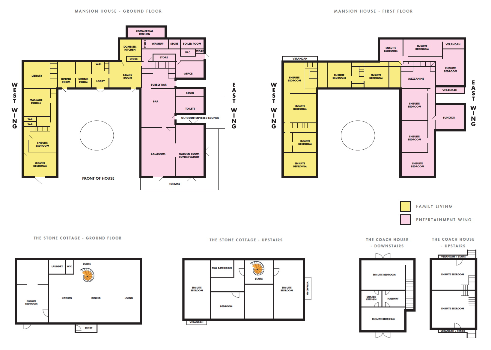 updated Floorplans