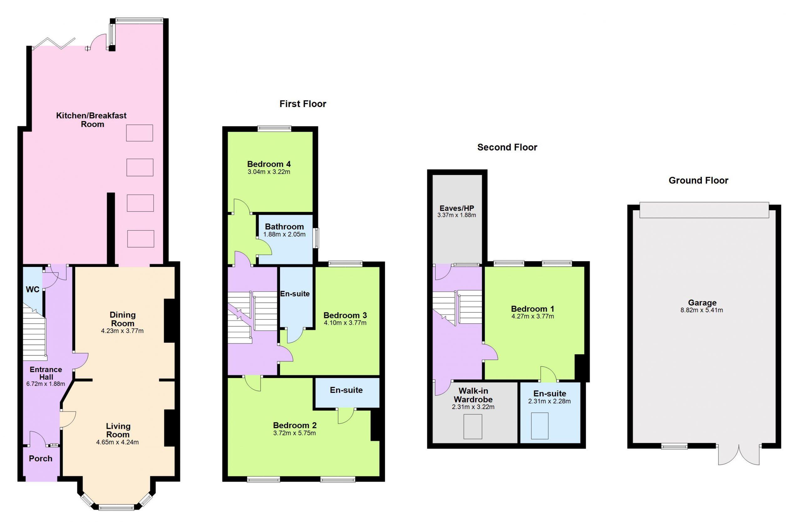 updated floor plan
