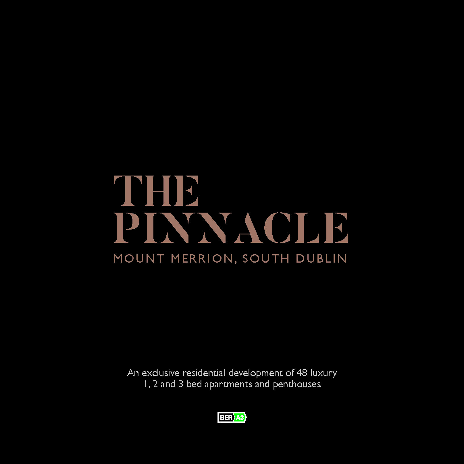 Pages from The Pinnacle Brochure
