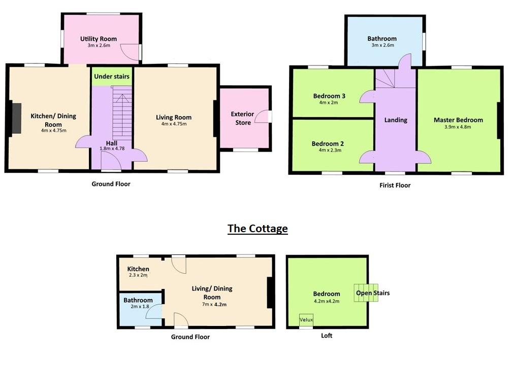 The Hermitage Floorplan